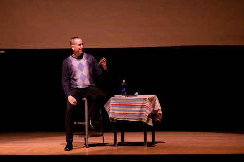 PostSecret's Frank Warren encourages students to share secrets