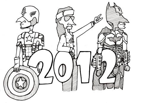 2012 film season promises action, massive star power