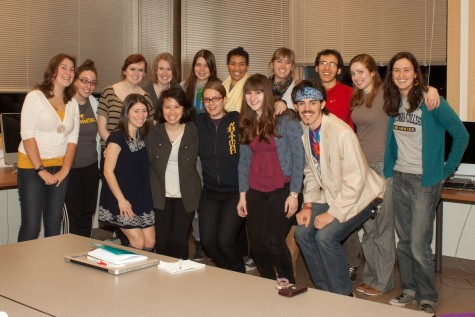 Presenting the spring 2012 Pio editors!