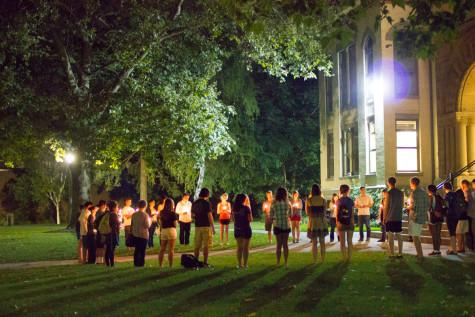 Candlelight Vigil in Memory of Sept. 11 Attacks