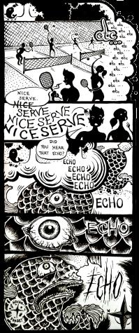 Campus Cartoon: Fish Echo