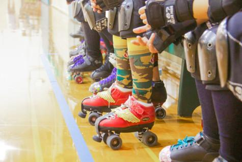 Roller Derby a Hit With Whitman Students