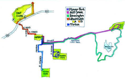 From Boyer to Bennington: Running Trails In, Around Walla Walla