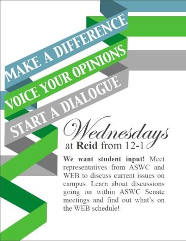ASWC and WEB Wednesdays
