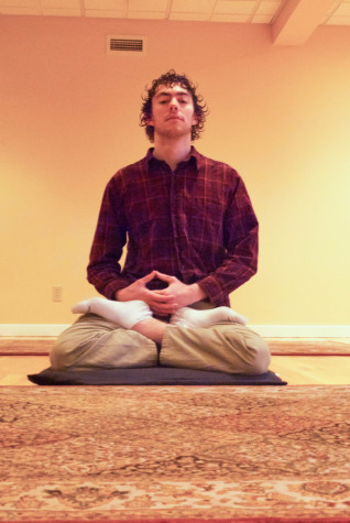 Meditating with Sebastian Lowe