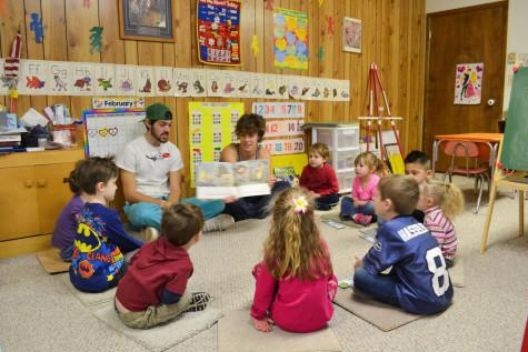 Students Pass on Love of Reading with Story Time