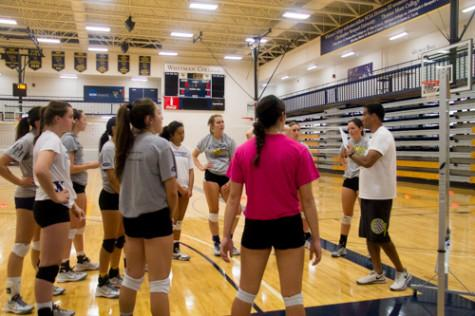 Whitman volleyball sets up for success