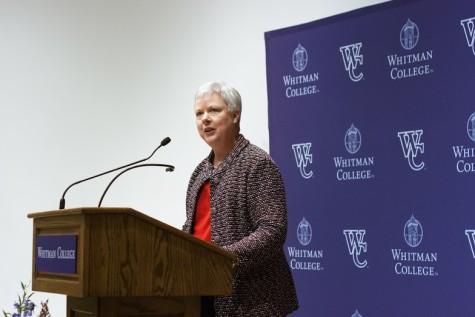 Kathleen Murray Named Whitman's New President