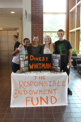 Divestment creates Responsible Endowment Fund