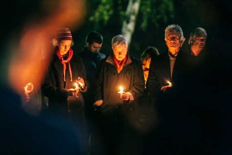 Vigil Held In Honor of Those Killed by Terrorism
