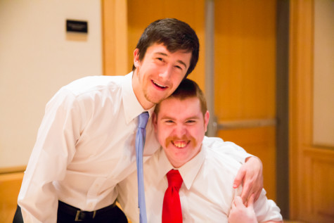 Whitman Buddy Program Celebrates During Buddy Ball
