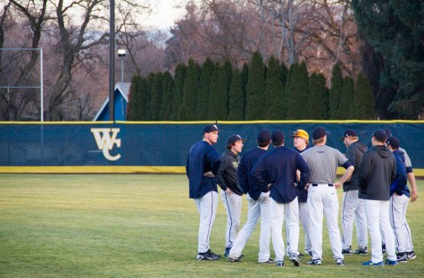 Whitman Baseball Optimistic About '16 Season Despite Slow First Weekend