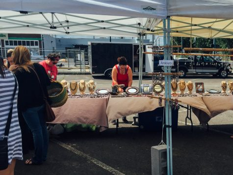 Farmers' Market Hosts Homegrown Art