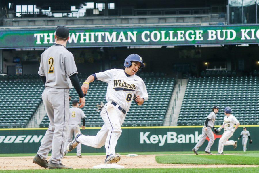 Blues Baseball Shines at Safeco