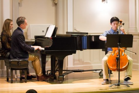 Composers' Studio: Showcasing Whitman's Musical Talent