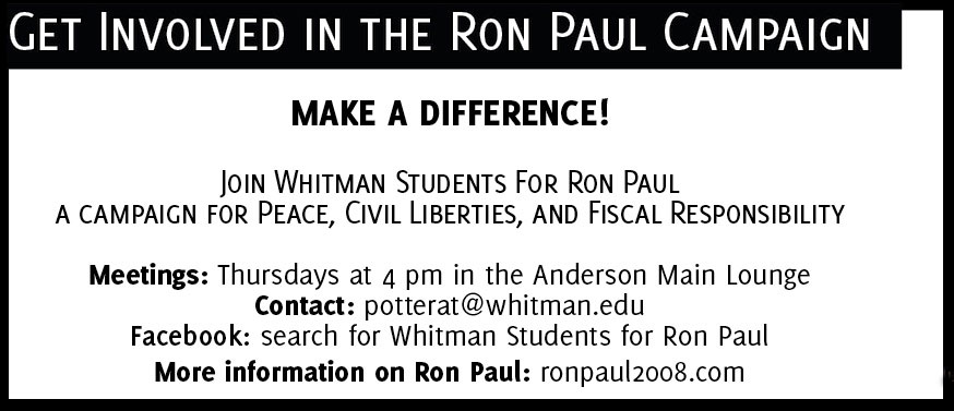 Demand a non-interventionist foreign policy in 2008, demand Ron Paul
