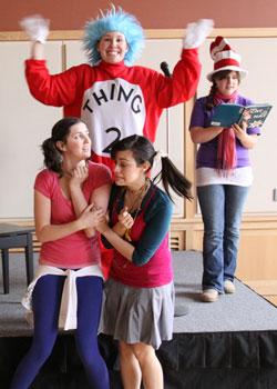 Kappas, kids celebrate annual Dr. Seuss Day