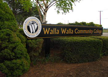 Walla Walla Community College is one institution that Whitman will not accept academic credits from. Credit: Falltrick