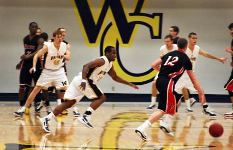 Men's basketball starts second half of season