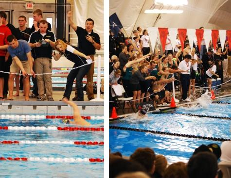 Sixteen records fall at swim championships