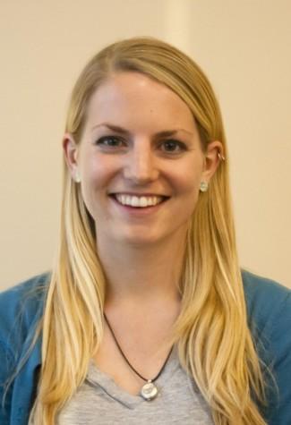 Nominations Chair candidate Caroline Koehler '12.  Photo Credit: Marie von Hafften