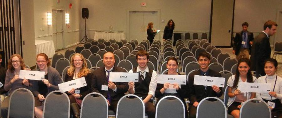 WhitMUN at the Nation Model UN-APEC conference in Washington, D.C. Photo contributed by Kayvon Behroozian.