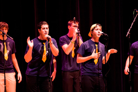 Whitman a cappella groups join forces for charity
