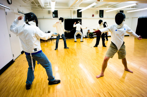 Whitman fencing club lunges for greater heights