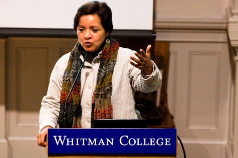 Luz Rivera captivates, inspires during lecture about social change in Mexico