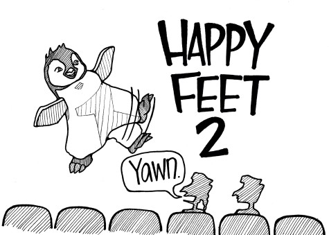"""Happy Feet Two"" fails to find its wings"