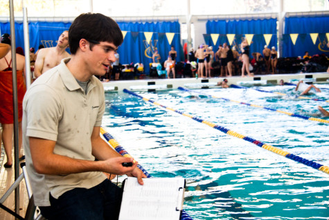 Profile: Assistant swim coach Kevin Howard