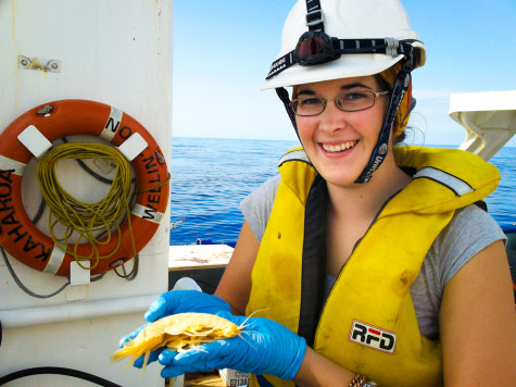 Whitman student assists in discovery of 'supergiant' amphipod