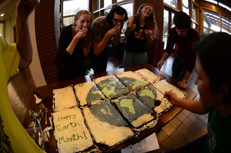 Photos: Outhouse celebrates Earth Month with cake