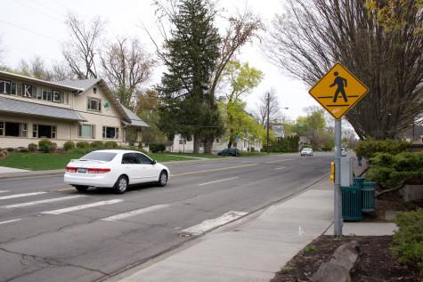 Student hit by car while crossing Isaacs