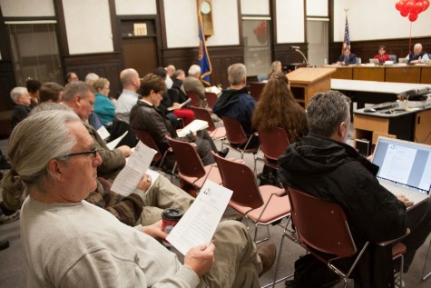 Several recent Walla Walla City Council meetings have included discussions about the city's biennial budget.  Photo by Halley McCormick.