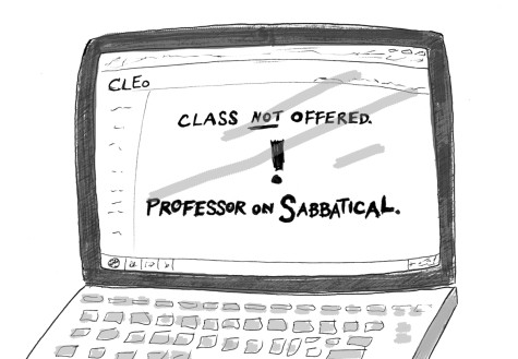 Year-Long Sabbaticals Lead to Greater Research Opportunities, Some Student Difficulties
