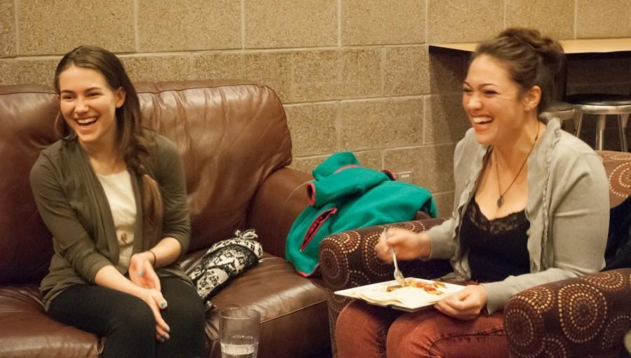 Chloe Kinsey and Joanna