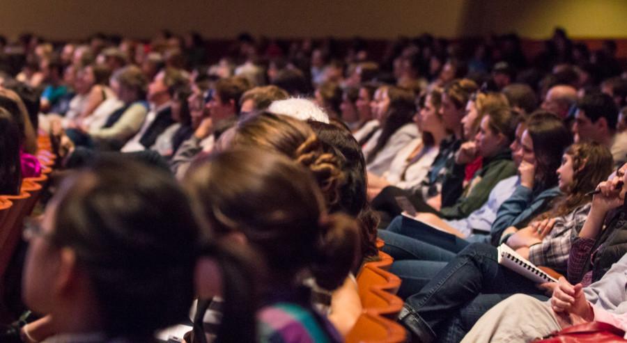 Rigoberta Menchu Opens Power and Privilege Symposium