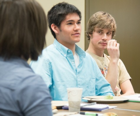 Crucible Lunch Meetings Help Students Look Forward