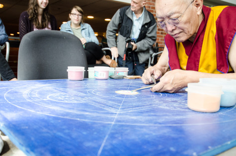 Tibetan Buddhists Share Art and Culture with Campus