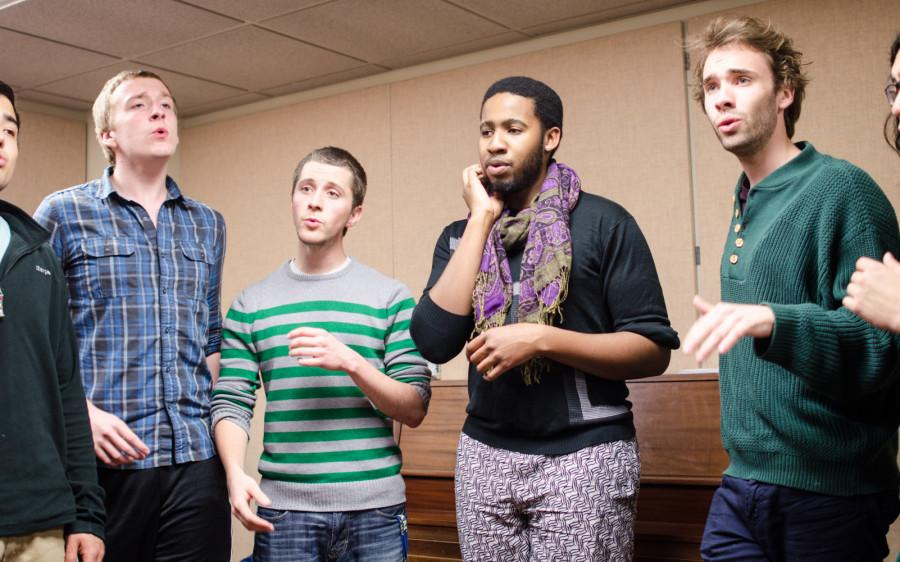 Student Groups Prepare for Choral Contest