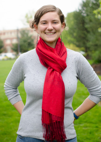 Zoe Ingerson '13. Photo by Skye Vander Laan.