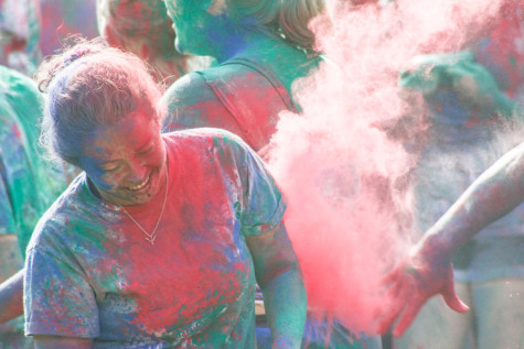 Holi 2013 brings a colorful end to finals week