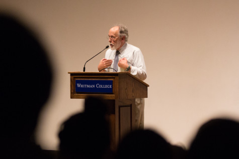 Acclaimed Writer Barry Lopez Shares Stories with Whitman