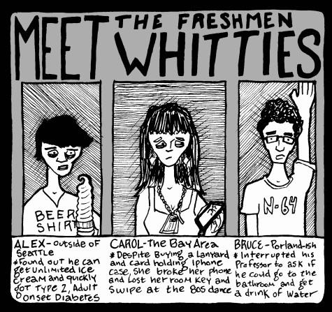 Campus Cartoon: Meet the Freshmen Whitties