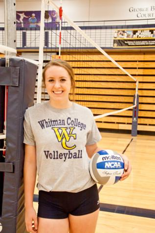 Linsenmayer Leading Voice for Volleyball Team