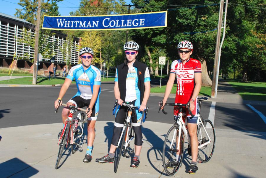 Whitman Cycling Team Extends Helping Hand to Community