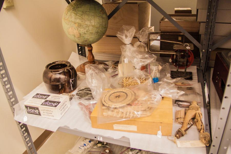 Whitmans Artifacts, Specimen Collections Reflect Areas History