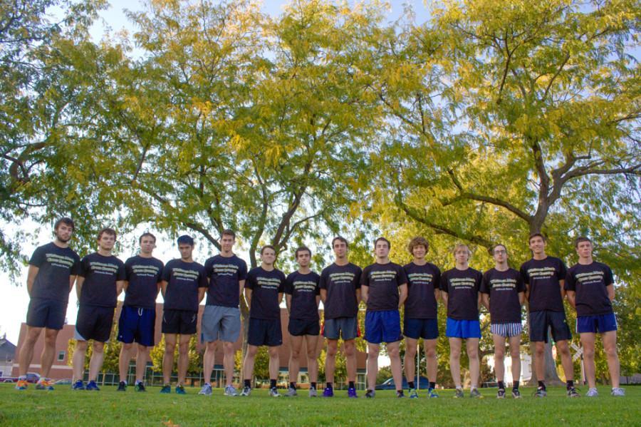 Mens Cross Country Chasing Big Goals