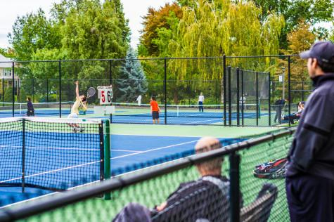 New Courts Play Host to Whitman Tennis Dominance